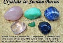 Crystal tips / Mind, body, soul