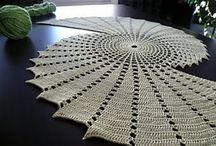 Crochet Doilies and Table Cloths