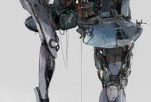 Science Fiction - Mech & Walkers