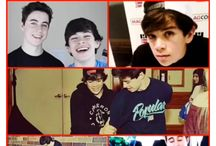 Hayes Grier , Nash Grier , and Cameron Dallas  / by Paige Schluterman
