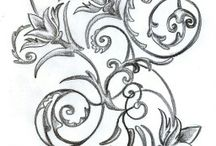 Art Nouveau Tattoo Sleeve Ideas / by Sezin Zuzu Koehler