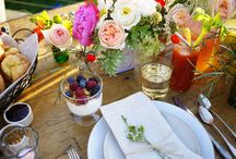 Table setting / by Tangerine Boutique