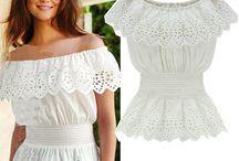 blusa cigana branca
