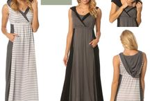 Maxi-Mommy Nursing & Materity Dresses / Mommy Gear's nursing & maternity dresses offer maxi-style and easy convenience. Wear before, during & after where ever life takes you & your babe!