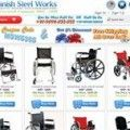 wheelchairindia / Manish Steel Works is an India based online handicapped product shopping website offers a large variety of handicap products and at amazingly low prices. Avail benefit of latest promotions on Wheelchairs, Tricyle, handicap walker, handicap crutches, handicap sticks, folding commode, cycle rickshaw, handicap moped and other items.