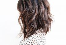 Style: Hair - Medium / Hair styles and ideas for medium length [when I want to cut my hair ;) ].