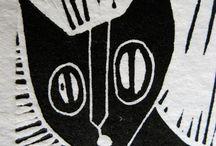 Woodcuts & Linocuts