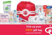 "Pick Up Your FREE Gift Bag / Packed full of goodies & helpful things to pack in your hospital bag & use in baby's first weeks. Simply register with eumom & pick up yours at your local SuperValu today! Moms everywhere love the eumom gift bag & here's what they have said: ""I got mine today & it's so handy!"" ""Fair play eumom & SuperValu! Great giveaway for mom & baby.""  ""Just got mine, it's fabulous!"""