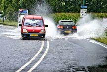 Ruimtelijke adapdatie / Hoe zien we terug wat de toekomst van Nederland gaat worden? Over wateroverlast in de zomer van 2014