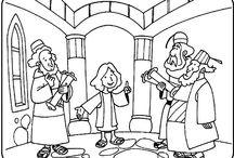 El niño Jesús en el Templo