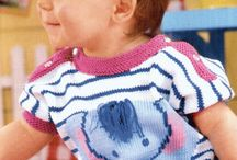 Baby Sachen crochet/knitting