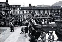 Antigua plaza bolivar