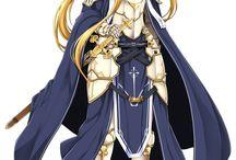 SAO: Alicization / Alicization Arc from Sword Art Online sequels.