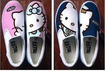 Shoes - Hello Kitty tekkies / Hello Kiutty tekkies