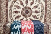 Ikat blankets design by Decors Barbares / Special Edition