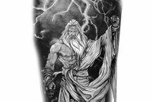 zeus tattoos