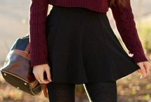 skirts winter/ fall outfits