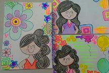 decoración cuaderno