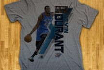 Oklahoma City Thunder / Officially licensed NBA player graphic apparel for all of the Oklahoma City Thunder top players.