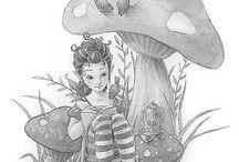 Manga/Sarah kay e.d / by Mariette Wings