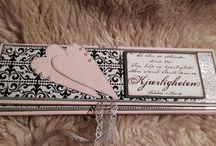 Bryllupskort / Homemade