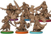 Massive Darkness / Figurines du jeu Massive Darkness de Guillotine Games