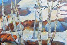Omia maalauksia