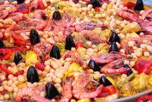 Recettes de la mer - Fish recipes / Recipes with fish and seafood - Recettes à base de poisson et fruits de mer
