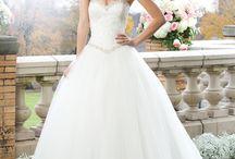 Wedding; her