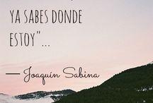 Joaquín Sabina / Citas y frases