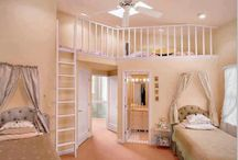 two story bedroom