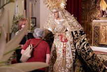 Esperanza de Triana - Triana Ocio / Fotos dedicadas a la Hermandad de la Esperanza de Triana. Cristo de las Tres Caidas y Esperanza de Triana - Sevilla.  http://www.trianaocio.es/#!cofrade/c1d94