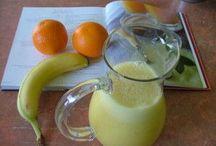 jus d orange  banane