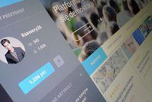 Web design / websites, layouts, etc.