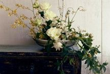"""FLORAL DEATH AND DECAY / Florals with an edge; forget big blousey blooms, we like wonky stems and heads that are past their """"best""""."""