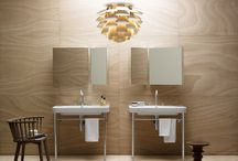 TULIP - Sanitary ware - Washbasins - Bathroom / Tulip: with a simple and essential design, Tulip, Neo Tulip and Tulip One are among the most suitable lines for a home with a contemporary style. All Tulip and Tulip One wall-hung, coupled and floor-standing WCs and Neo Tulip floor-standing and coupled WC are equipped with the water saving flush system.