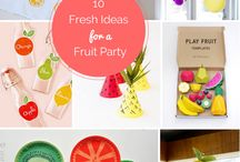 Fruit Party Theme