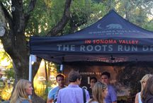 Sonoma Farmers' Market / Sonoma Valley Wine features two wineries at the Sonoma Farmers' Market for the month of October, 2014. Visit us for wine tasting and bottle sales and purchase SWAG with AG with our Roots Run Deep logos. / by Sonoma Valley Wine