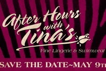 after hour with Tina's Fine lingerie / Host a home Lingerie/Swimwear/Toys party, at your home or at the store, having  fun while you earing free merchandises. $100 or more..