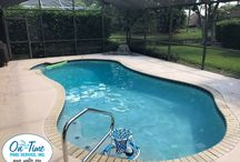 The Beautiful Pools we service. / On-Time Pool Service.  The Beautiful Pools we service.