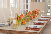 Table Settings/Design / entertaining / by RuthAnne Anderson Hocking