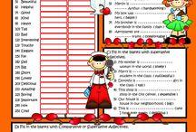 Grammar Quizzes/ Exercises