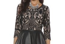 Peplum Play / The Peplum in 2013 reemerged as a hot trend and it continues into fall.  Peplum dresses, peplum tops make a statement and complement your curves