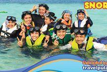 Pulau Seribu / Pulau Seribu memiliki keindahan alam yang sangat eksotis. Berbagai Fasilitas serta penginapan tersedia di Pulau Seribu .