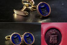 Cufflinks / Cufflinks  handmade engravings