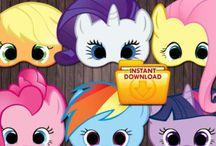 My little Pony birthday syntymäpäivä compleanno