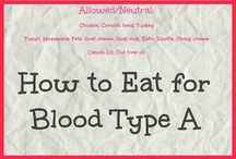 Blood type A cookbook