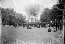 Historic Images of UVA / All images are sourced from the University of Virginia Library digital repository.  All items are housed in the Albert and Shirley Small Special Collections Library, University of Virginia.