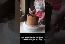 tynkowanie tortu