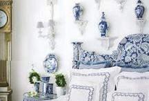 BLUE AND WHITE / by Mary Ann Patterson Urban